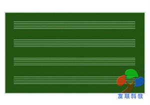W04301五线谱教学黑板