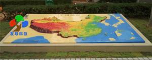 中国立体地形0423